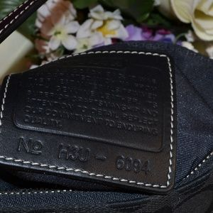 Coach Bags - SuPer Cute Black Coach mini bag